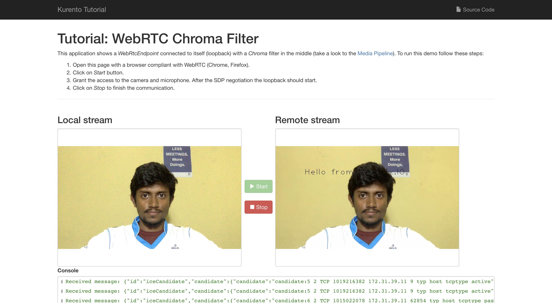 How to Create an OpenCV Filter for Kurento Media Server